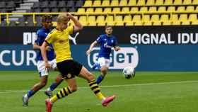 Haaland marca el primer gol de la Bundesliga tras la crisis del coronavirus