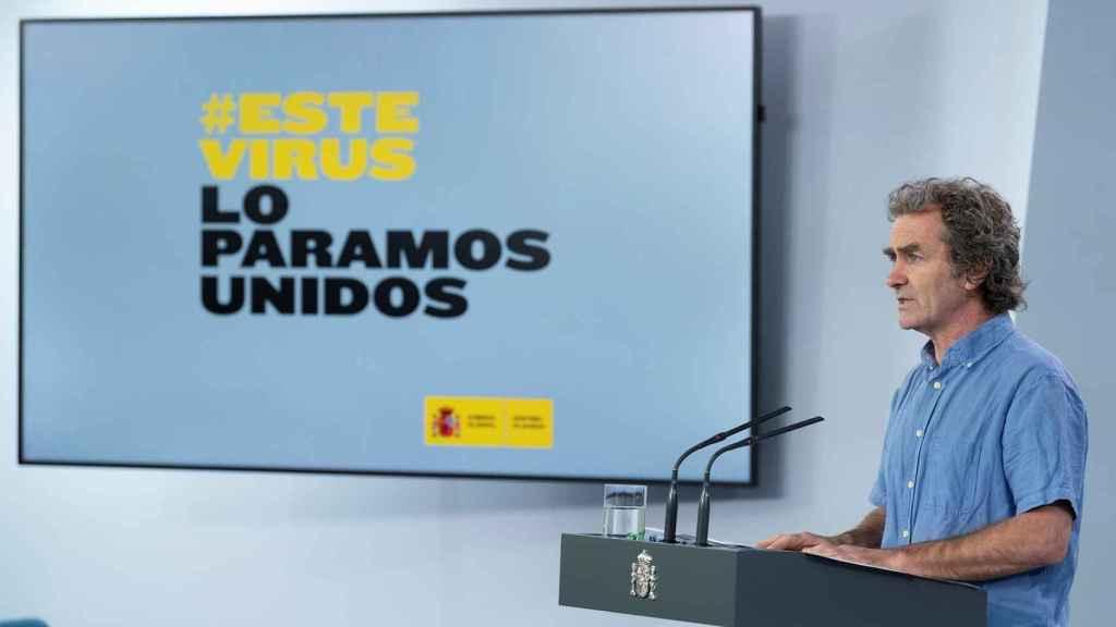 Fernando Simón, director del Centro de Alertas y Emergencias Sanitarias.