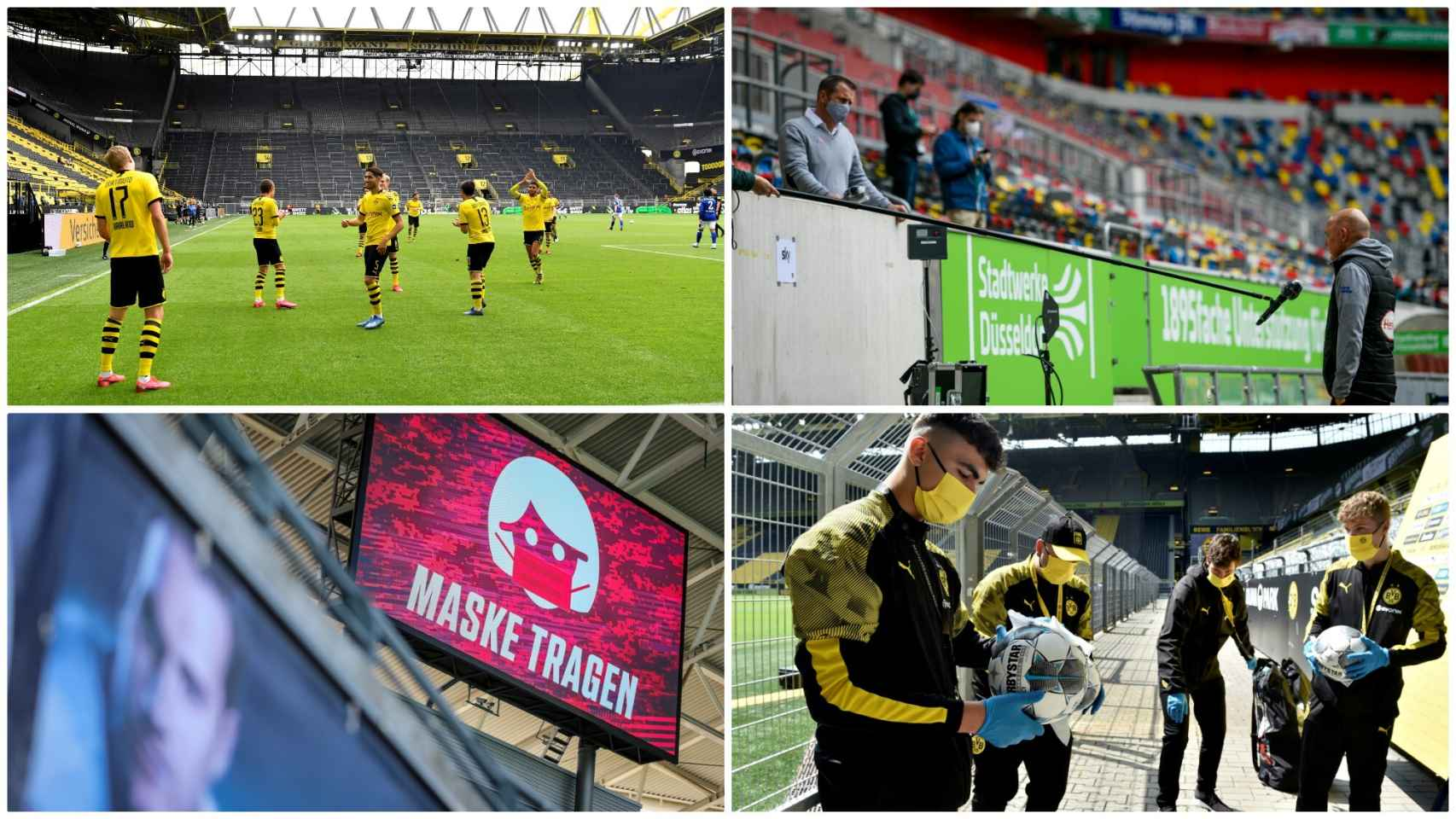 Así volvió la Bundesliga tras el parón por la crisis del coronavirus