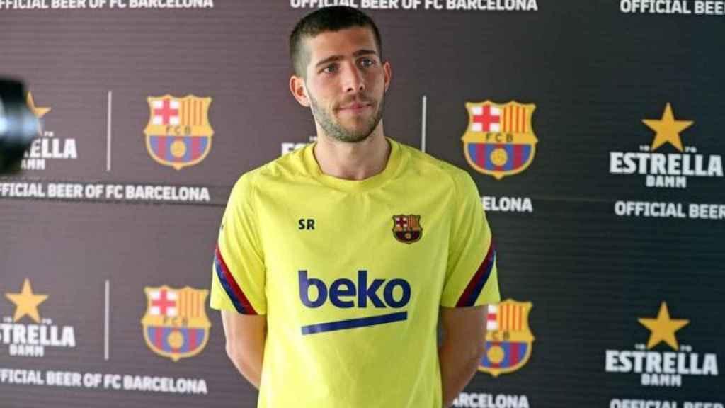 Sergi Roberto, futbolista del Barcelona