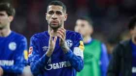 Omar Mascarell, en un partido del Schalke