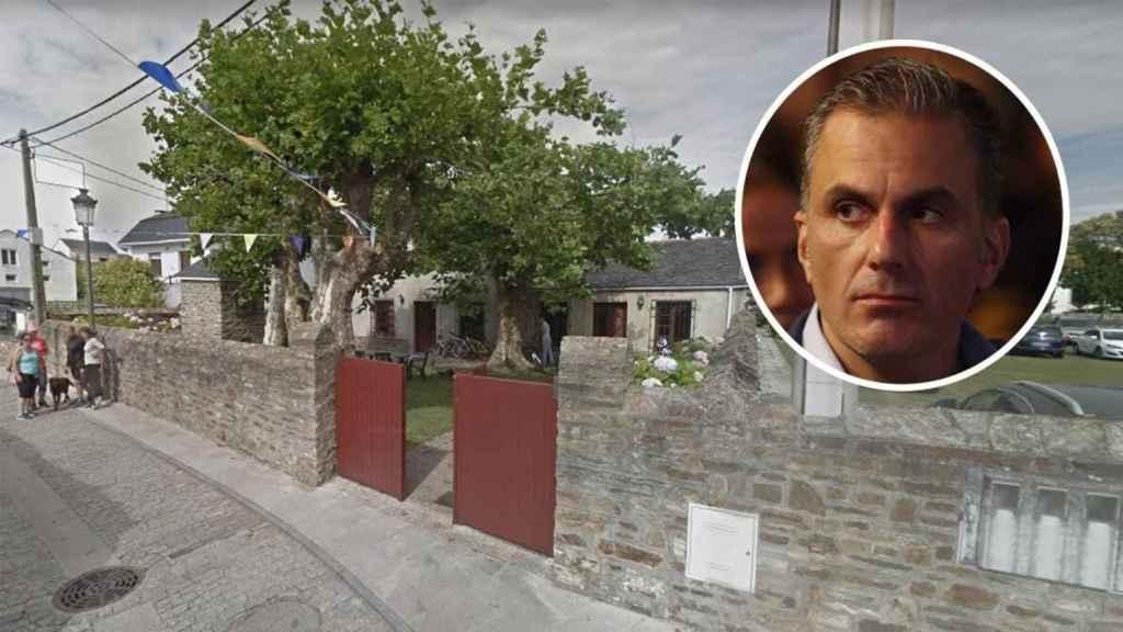 Así es la vivienda de Ortega Smith que en el catastro figura como almacén de uso residencial.