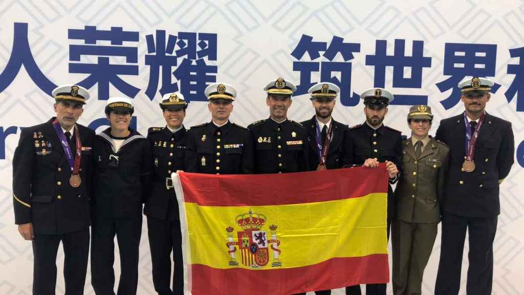 Representantes españoles en los Juegos Militares