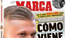 La portada del diario MARCA (18/05/2020)