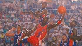 Michael Jordan jugó un amistoso de la ACB en 1990