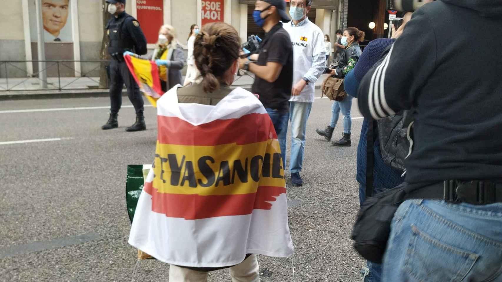 El barrio de Salamanca, Ferraz y una Castellana como en la Champions: Madrid contra Sánchez