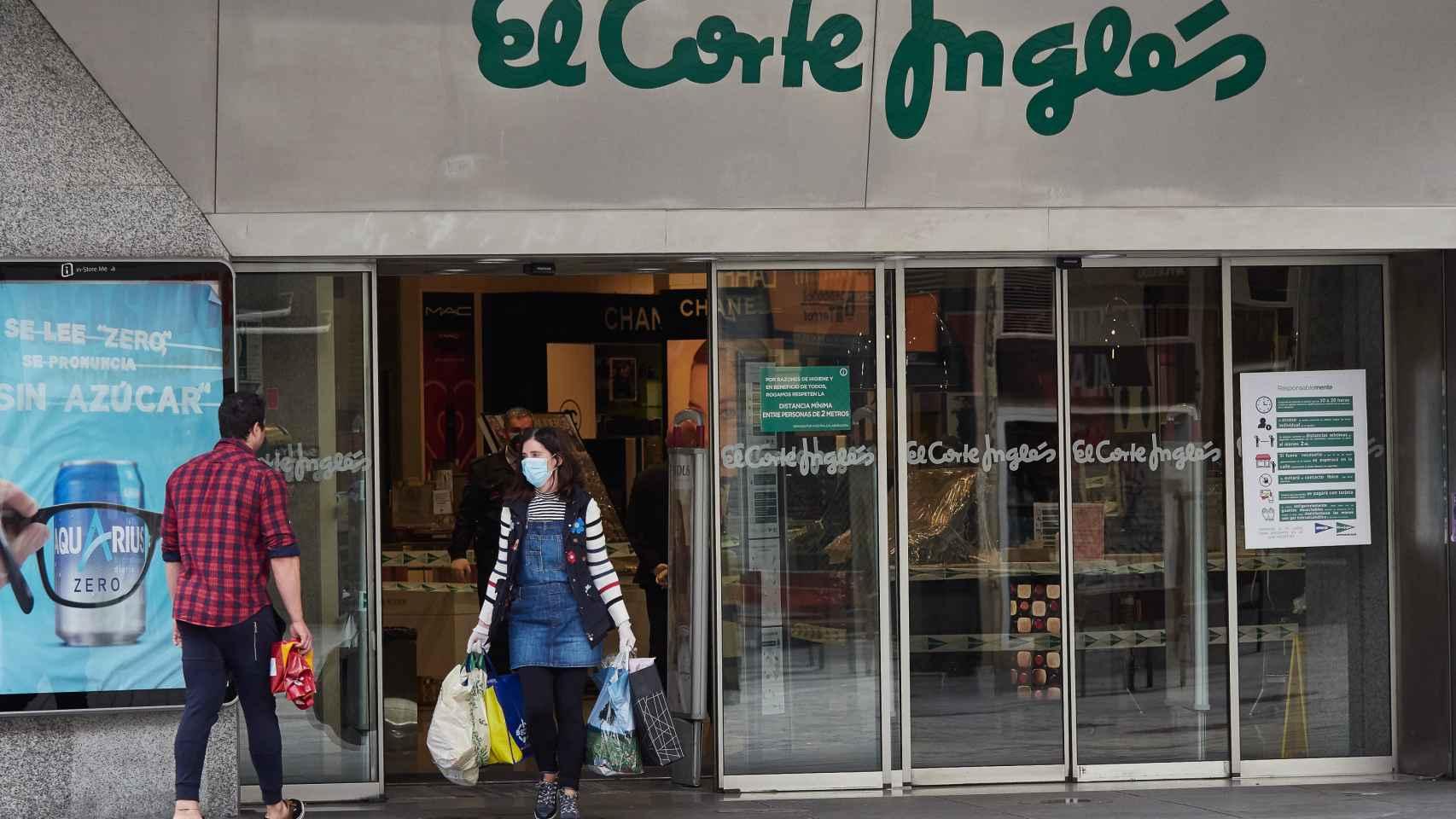 El Corte Inglés podrá abrir sus tiendas grandes en fase 1 a partir de este lunes