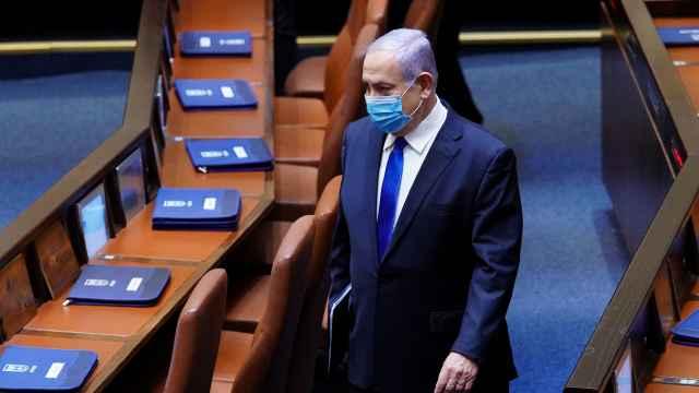 Benjamin Netanyahu en el Parlamento israelí en una foto de archivo.