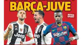 La portada del diario Sport (18/05/2020)