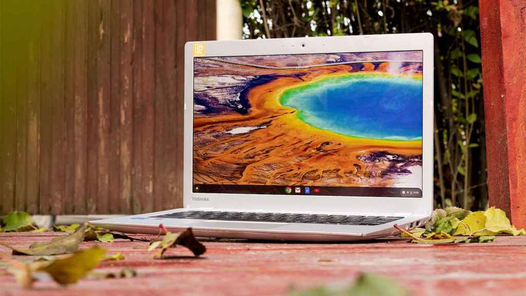 Chromebook con Chrome OS.