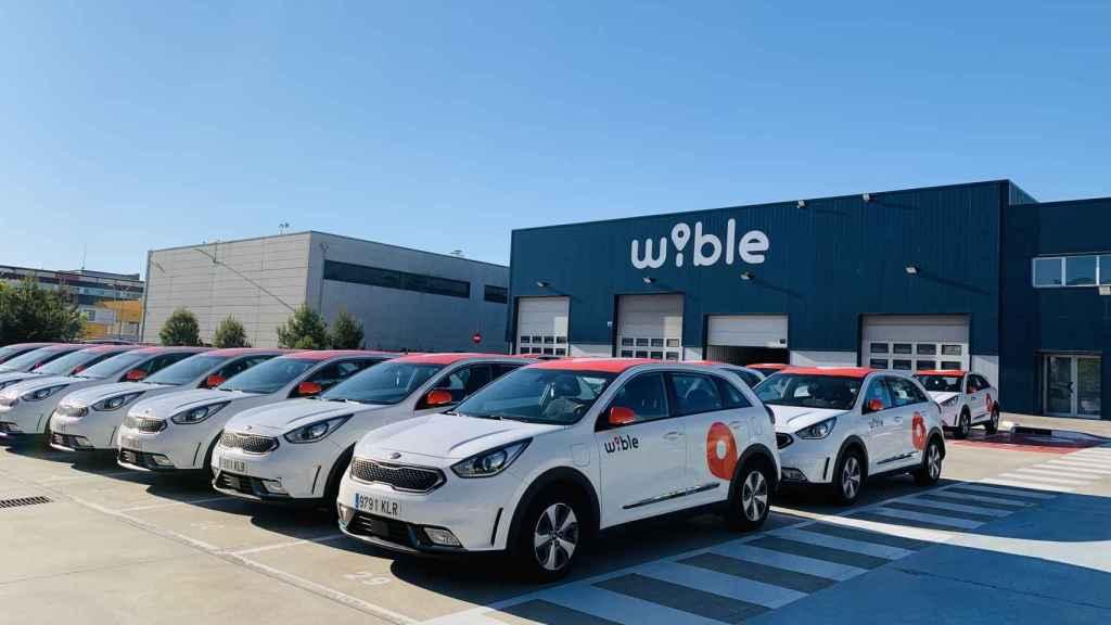 Base de Wible en Madrid.