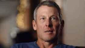 Lance Armstrong, durante el documental