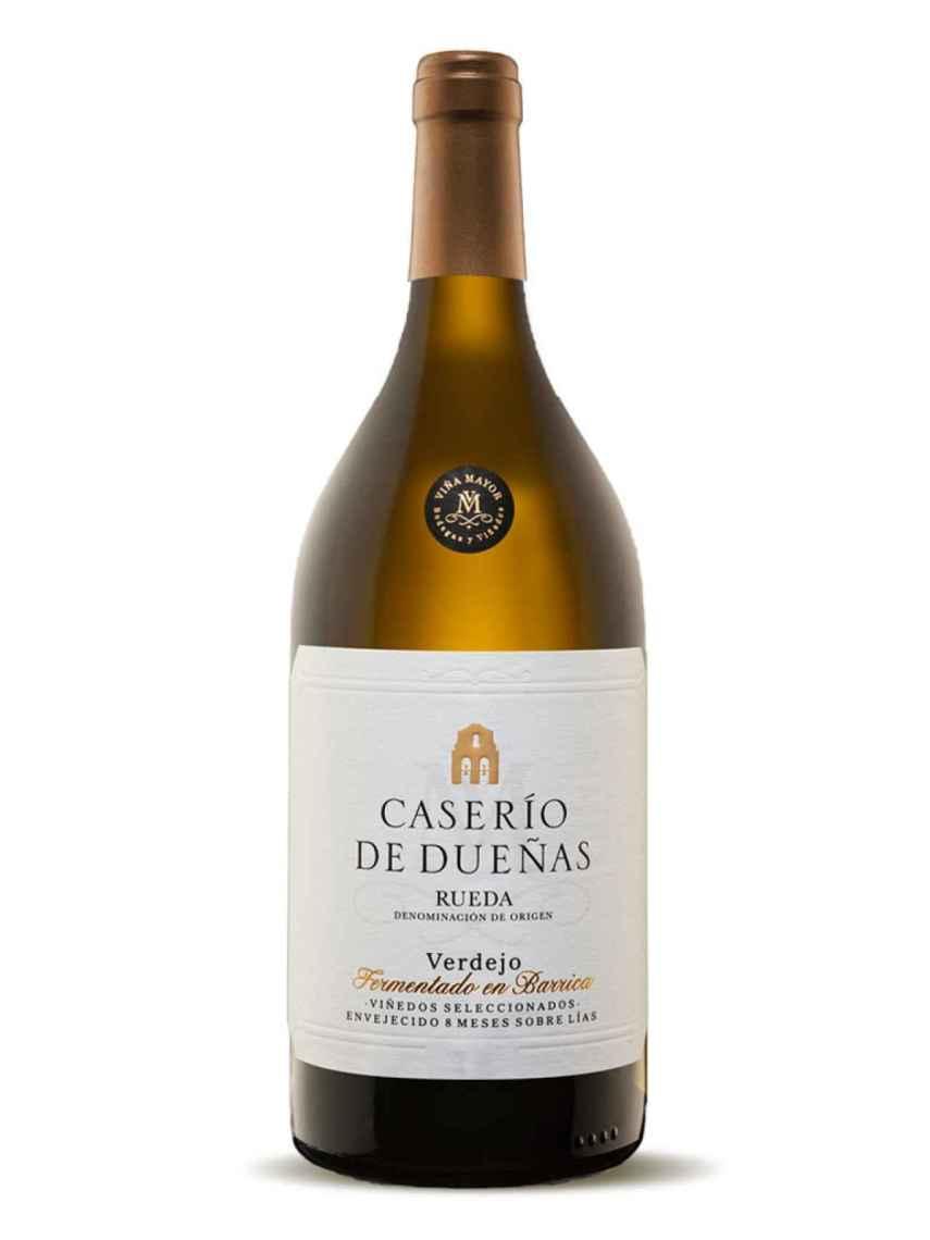 Botella de Caserío de Dueñas fermentado en barrica.