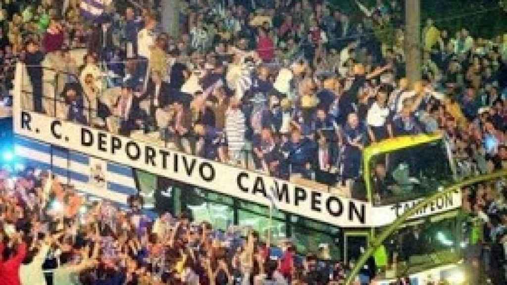 El Deportivo, tras ganar La Liga