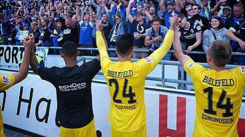 La unión del Arminia Bielefeld con su equipo es muy importante y les convierten en unos de los seguidores más fieles de Alemania