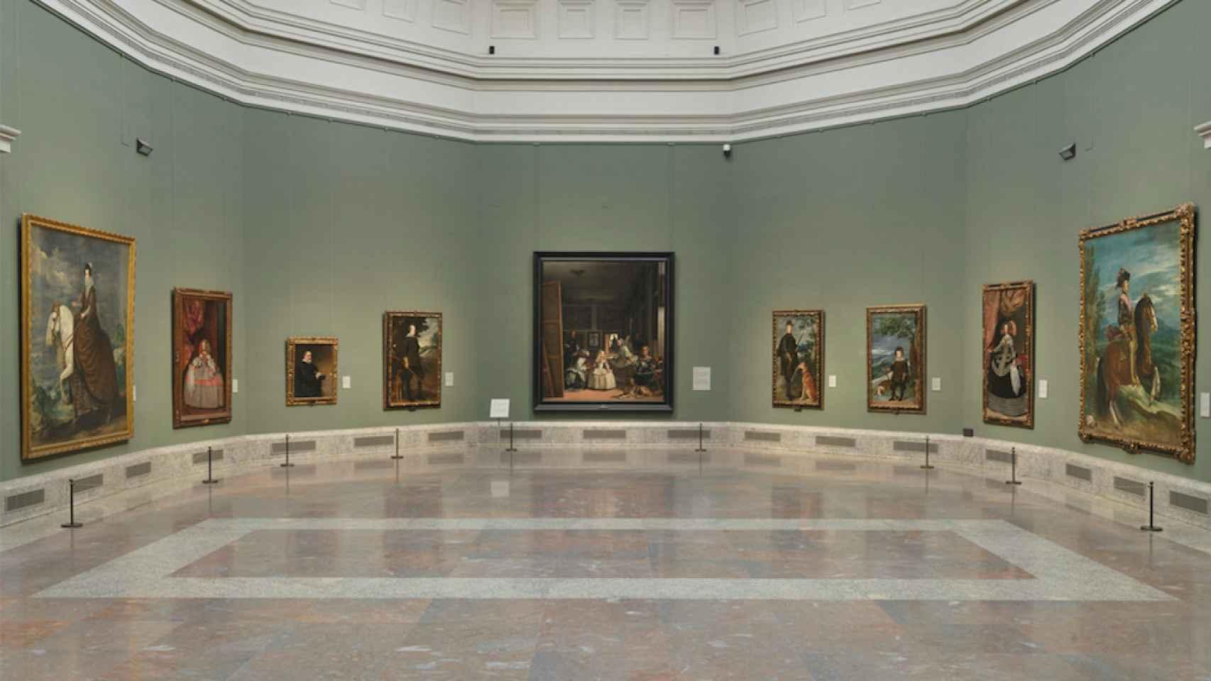 Imagen de la sala 12 del Museo del Prado.