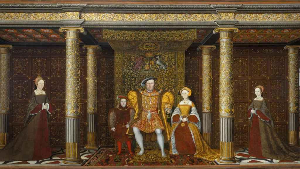 'La familia de Enrique VIII'.