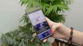 La aplicación ideal para usar el móvil con una mano