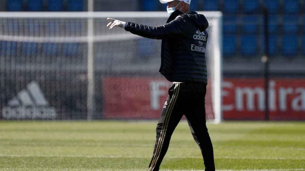 Zidane gana importancia en esta nueva fase