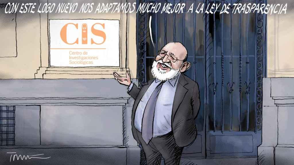 Viñeta de José Féliz Tezanos, director del CIS