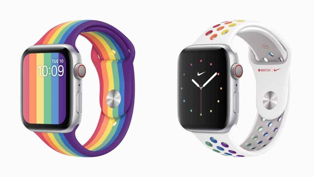 Las nuevas correas de Apple Watch para celebrar el Orgullo LGTBI+