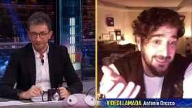 Antonio Orozco, este lunes en 'El Hormiguero'.
