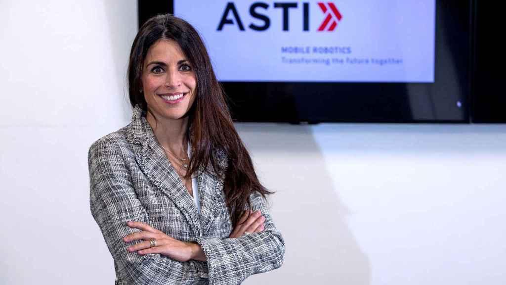 Verónica Pascual, CEO de ASTI Mobile Robotics.