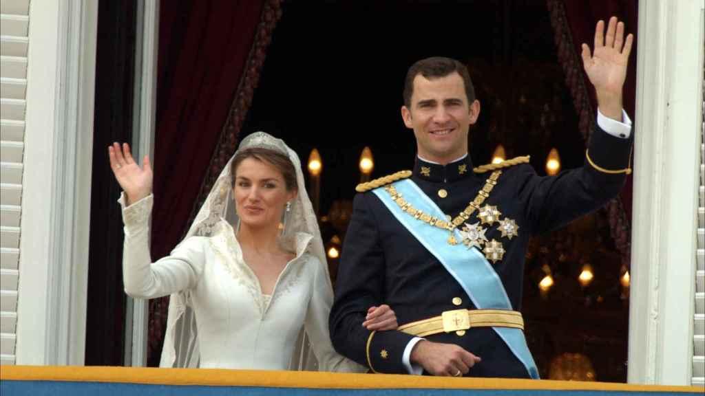Los Reyes no alargaron su boda, y los más 'tardones' volvieron a sus casas a la una de la madrugada.