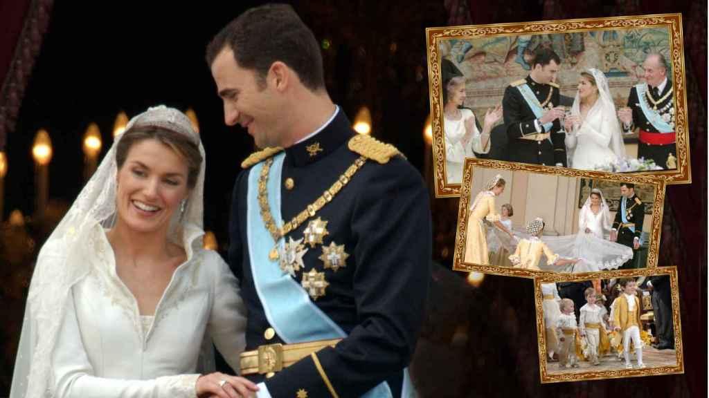 Desvelamos algunas de las anécdotas más destacadas de la boda de los Reyes hace 16 años.