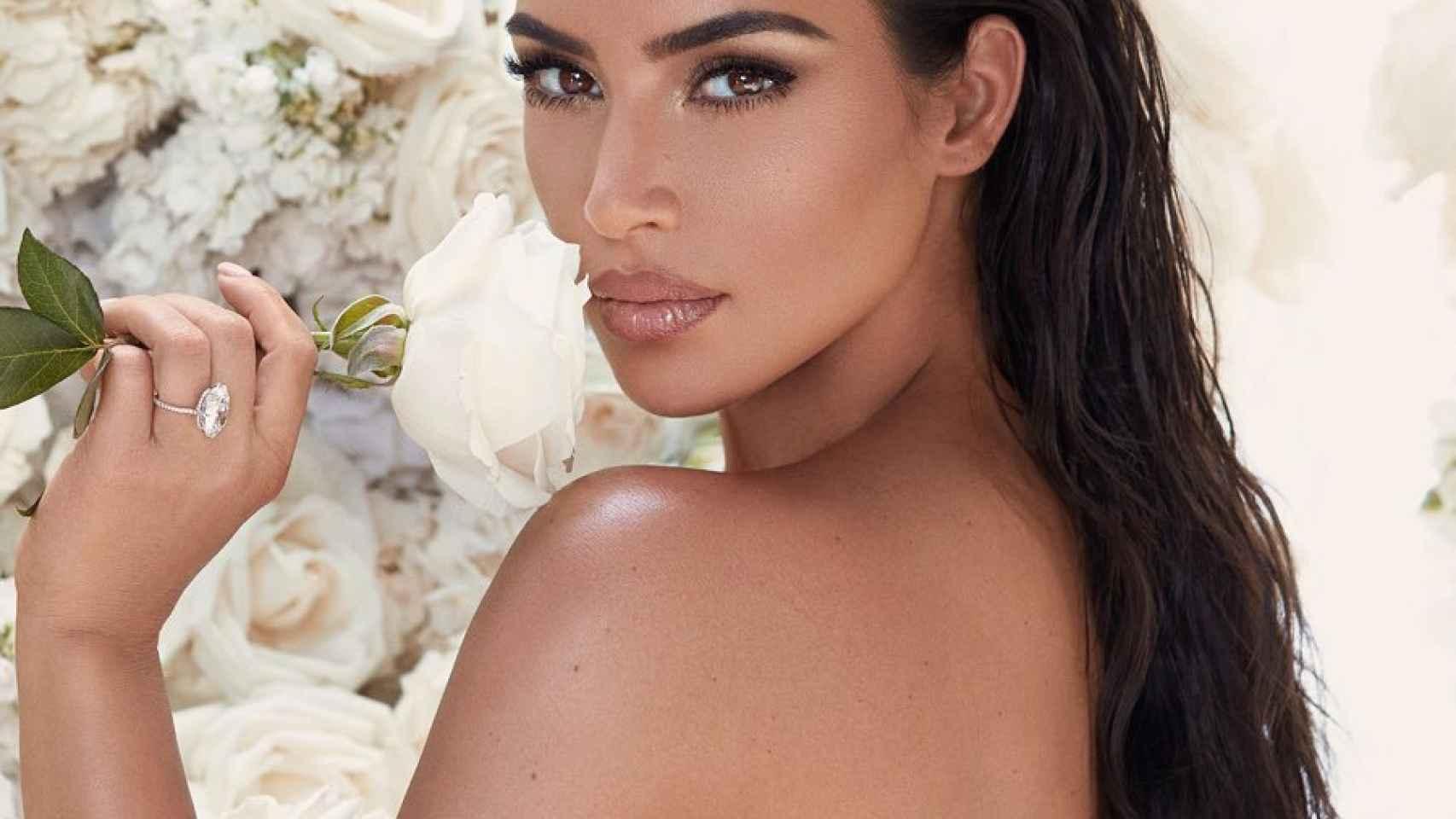 Kim Kardashian, en una imagen promocional de su marca.