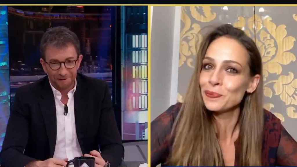 Eva González en 'El Hormiguero'.
