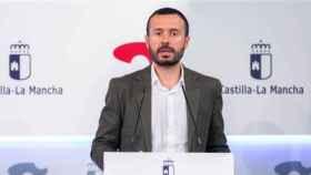 José Luis Escudero, consejero de Desarrollo sostenible de Castilla-La Mancha, en una imagen de este martes