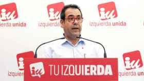 Juan Ramón Crespo, coordinador de Izquierda Unida Castilla-La Mancha (Ó. HUERTAS)