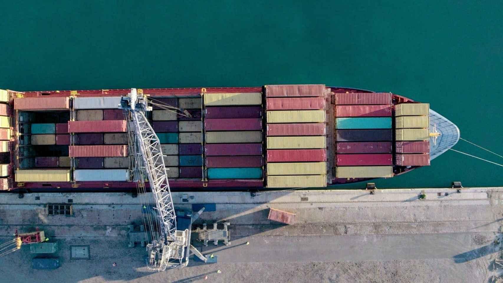 El puerto de Almería.