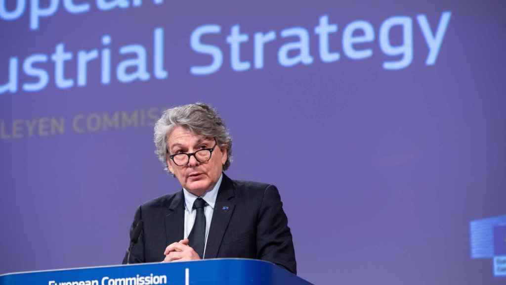 El comisario de Mercado Interior e Industria, Thierry Breton