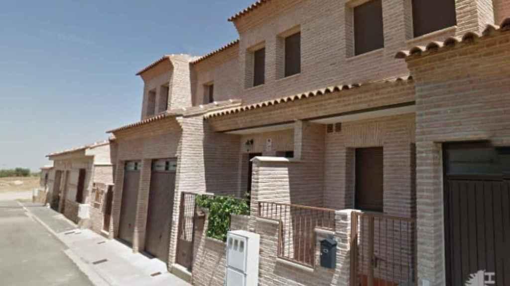 Chalet adosado en el municipio de Polán (Toledo) en venta por 70.000 euros.