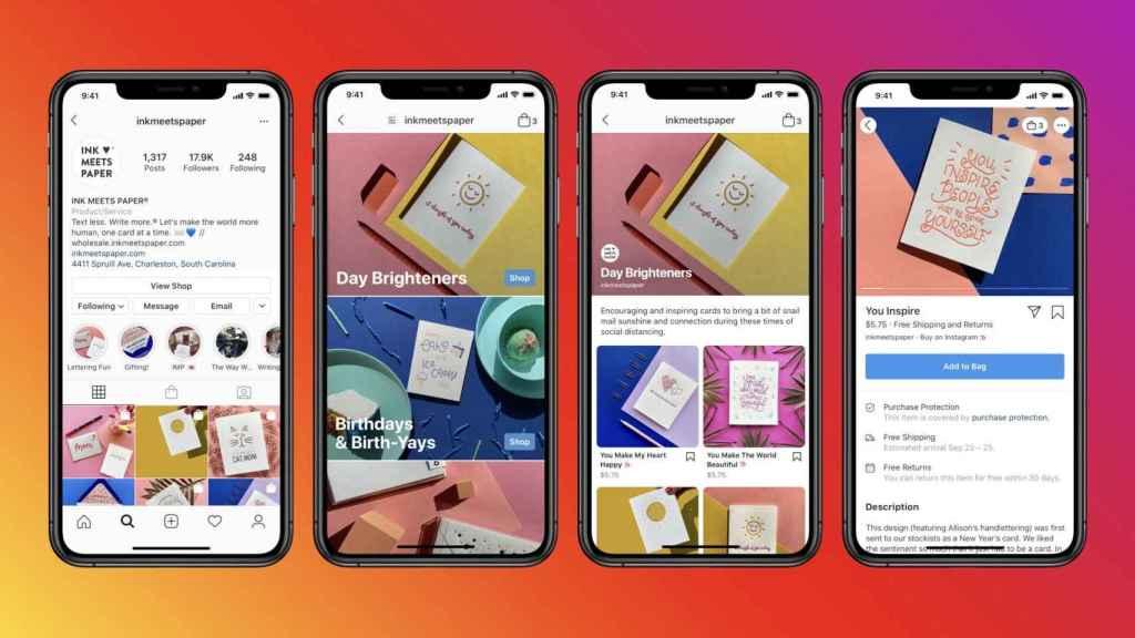 Instagram y Facebook tendrán tiendas virtuales, integradas con todos sus servicios