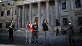 'Rodea el Congreso'aplaza su protesta prohibida y acusa al Gobierno de tolerar las de la derecha