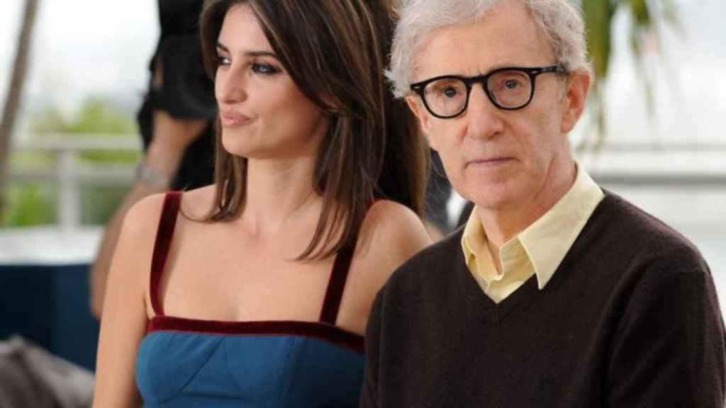 Woody Allen y Penélope Cruz.