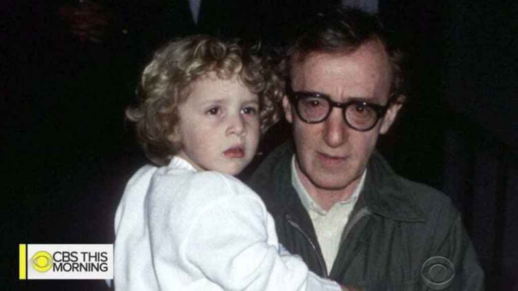 Woody Allen y su hija Dylan.