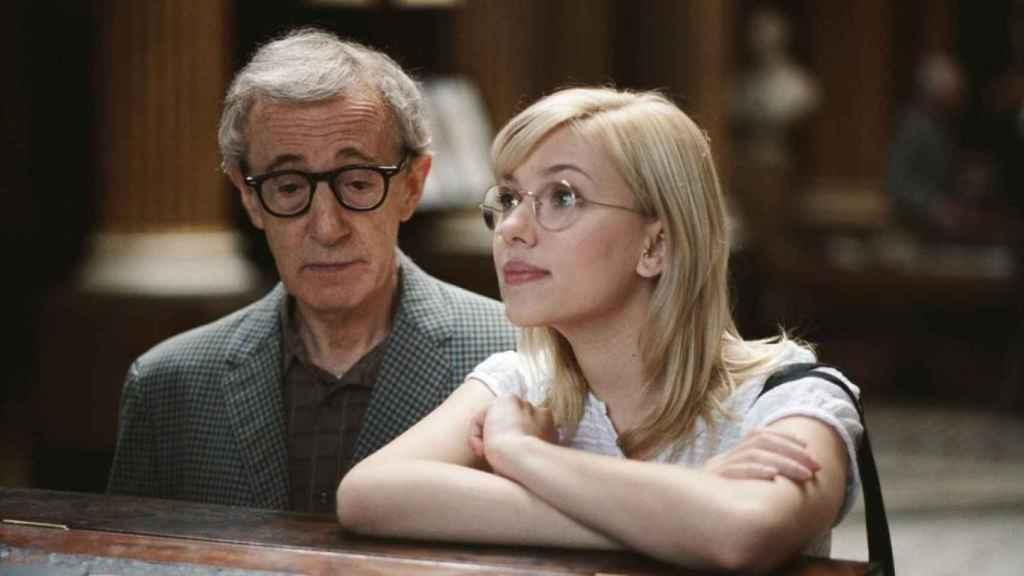 Woody y Scarlett.