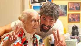 La Tata junto a Miguel Ángel Muñoz en una imagen de sus redes sociales.
