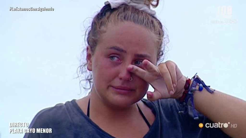 La concursante se ha enfrentado a 'El puente de las emociones'.