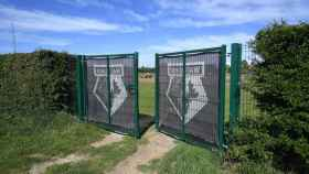 El campo de entrenamiento del Watford