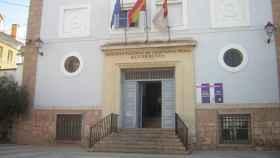 La fachada del edificio histórico del IES Alfonso VIII de Cuenca