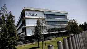 Sede de la compañía de tecnología Indra en Alcobendas.