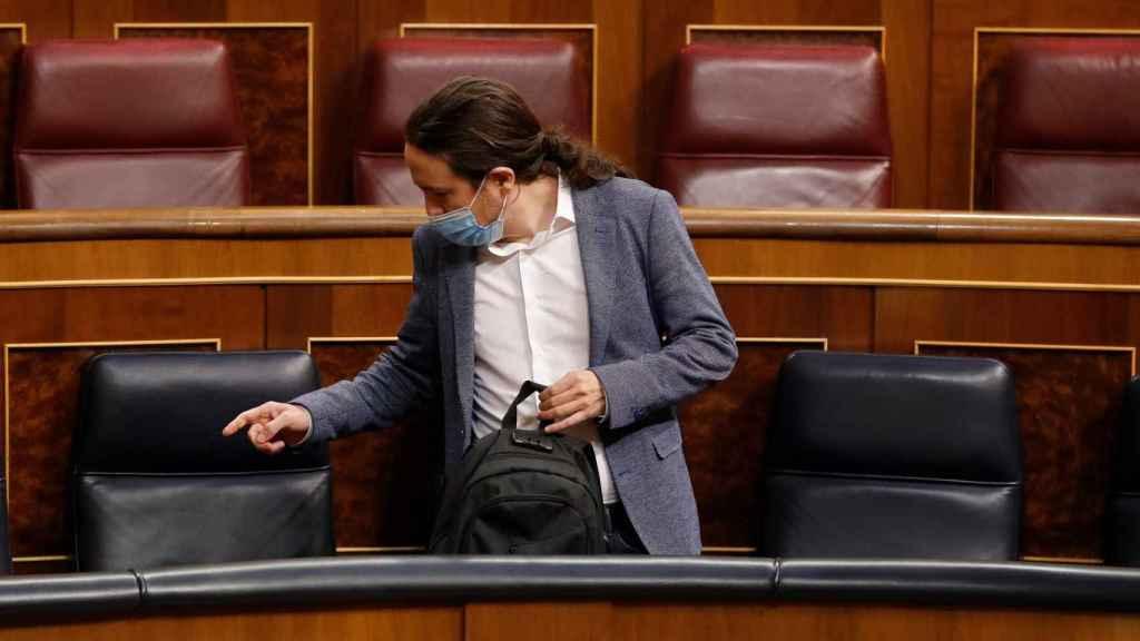 El vicepresidente del Gobierno, Pablo Iglesias.