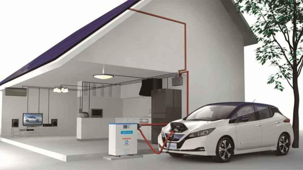 Nissan es uno de los fabricantes que apuestan por la carga bidireccional