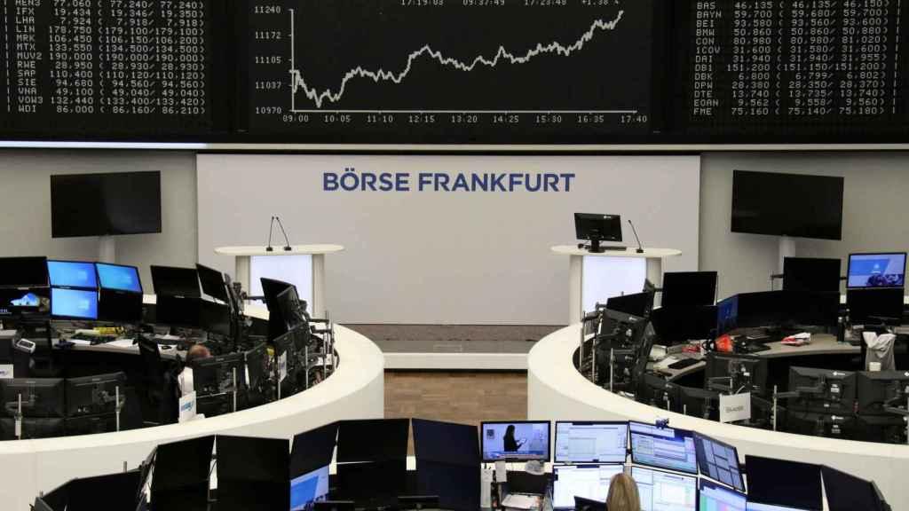 Bolsa de Frankfurt.