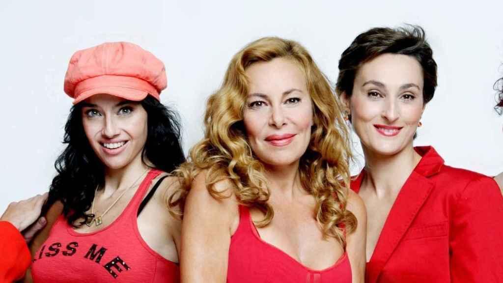 Beatriz Rico y Ana Obregón trabajaron juntas en 'Ellas y el sexo débil'